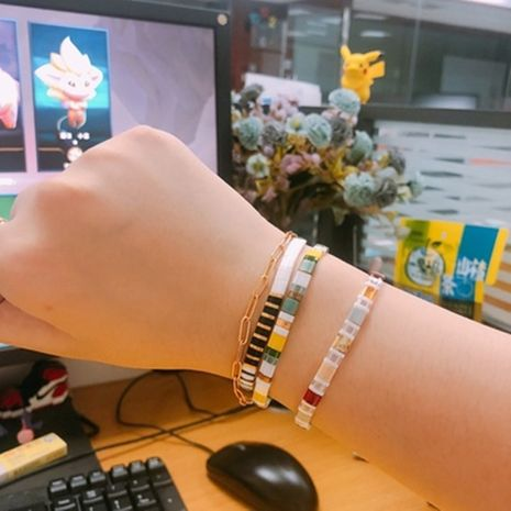 Hot selling fashion simple ethnic style women's bracelet wholesale NHGW261352's discount tags
