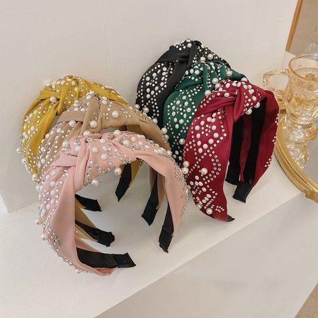Venda moldeada de la tela anudada paquete puro vendedor caliente del pelo del color de la moda NHSM260827's discount tags