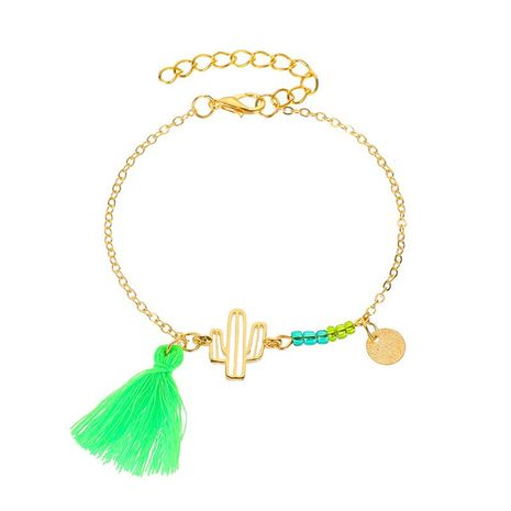 nouveau bracelet de plante de pompon de mode simple de cactus NHDP260866's discount tags