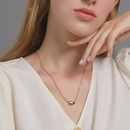Hot selling fashion simple small bean necklace wholesale NHDP260890