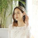Korean  handwoven branch pearl flower earrings  NHHS260907