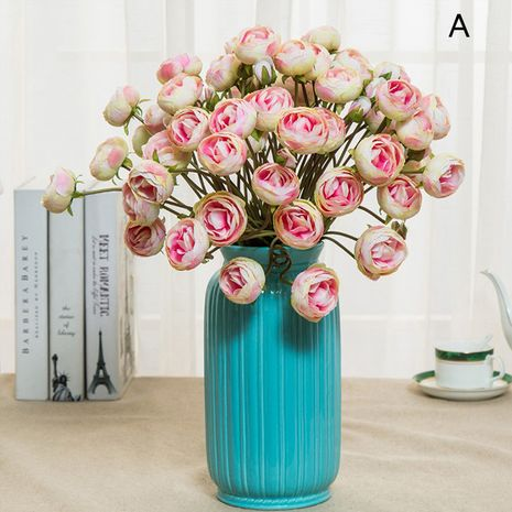 Rosa Melaleuca de simulación de jardín de primavera de 3 puntas para mujeres NHNU261400's discount tags