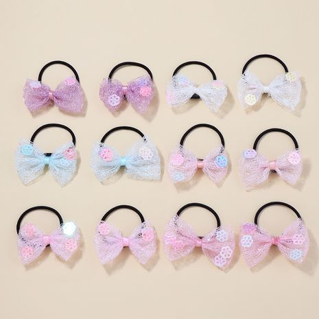 Color butterfly hair rope set  NHNU261957's discount tags