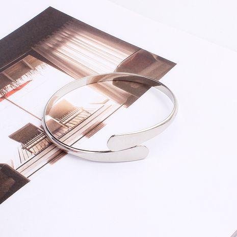Mode nouvelle ouverture bracelet en alliage rétro sauvage coréen simple NHRN261436's discount tags