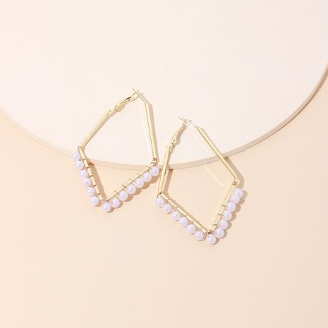 new hand-made wrap-around pearl earrings for women hot-saling NHRN261440's discount tags