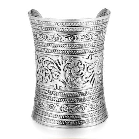 métal large bracelet rétro en métal de style bohème exagéré grand alliage NHGO261464's discount tags