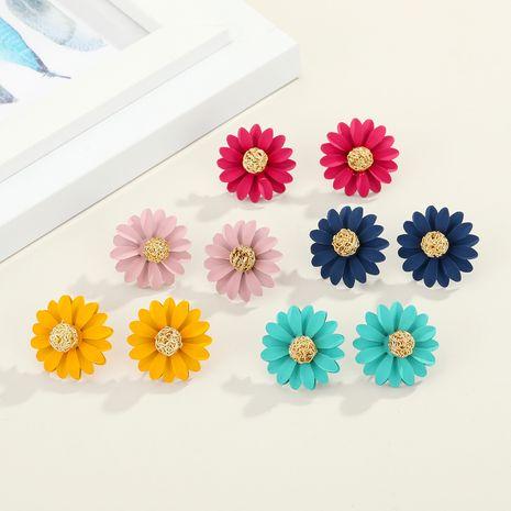 South Korea's new flower  pearl  earrings NHGO261471's discount tags