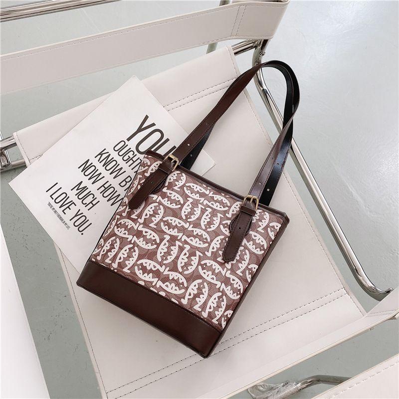Simple new trendy fashion largecapacity shoulder wild womens tote bag NHRU261575