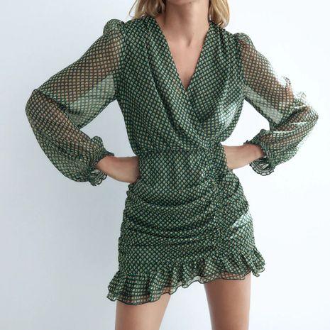 Al por mayor nuevo vestido decorativo plisado hilo de color metalizado NHAM261622's discount tags