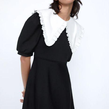Al por mayor vestido de punto con cuello de costura de nueva moda para mujer. NHAM261624's discount tags