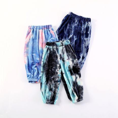 nueva ropa para niños tirantes bombachos teñidos anudados cálidos pantalones retráctiles de moda para bebés NHLF261667's discount tags