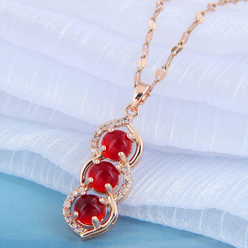 Korean fashion  Acacia bean necklace NHSC261944