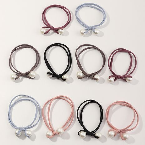 Hot selling fashion mixed color Hair Scrunchies wholesale NHNU262548's discount tags