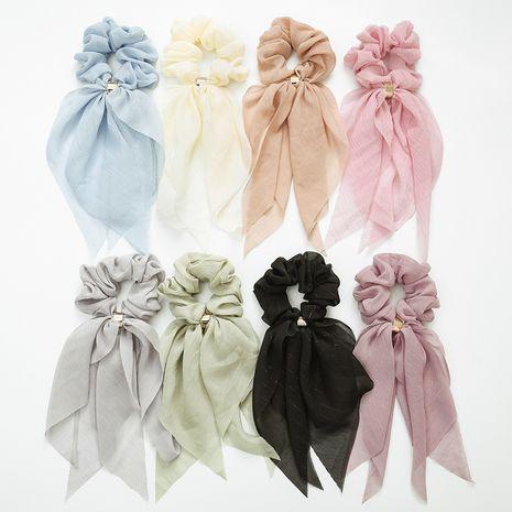 Mode banderole double arc dames dentelle queue de cheval tissu chouchous cheveux NHDM261306's discount tags