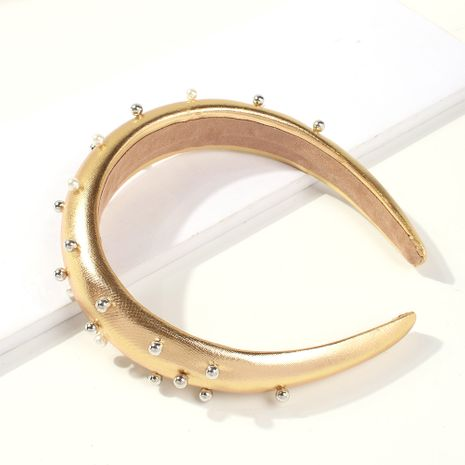 diadema creativa de perlas brillantes con lentejuelas NHMD261939's discount tags
