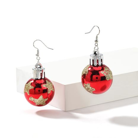 Christmas  creative resin sequins star light ball earrings  NHJE261685's discount tags