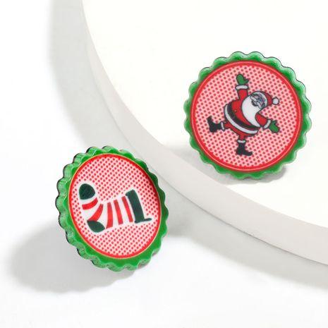 simple Christmas  trendy  earrings NHJE261687's discount tags