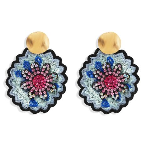 fashion personality exaggerated  daisy flower earrings  NHJQ261712's discount tags