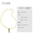 nouvelle mode pull chane exagration serpent pendentif en cuivre collier pour les femmes NHAS261751