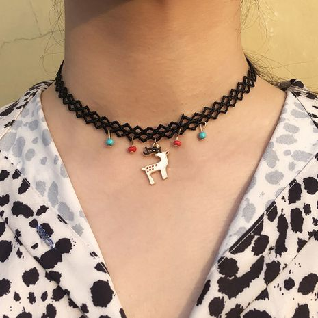 fashion new simple choker NHMD261759's discount tags