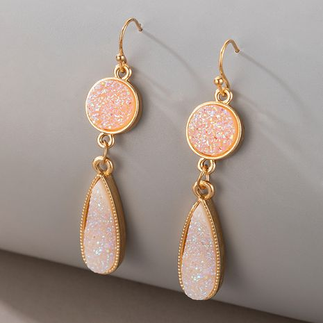 new shell retro imitation natural stone earrings  NHGY261781's discount tags