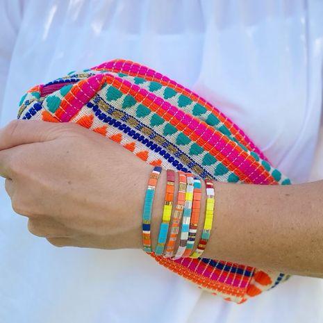 hot-saling niche tila rice beads fashion multi-layered bracelet for women NHGW261832's discount tags