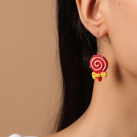 Korean new sweet  cute  food fashion trend  lollipop earrings NHKQ261879's discount tags
