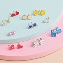 Korean new dripping womens wild combination small earrings hotsaling  NHSD261981