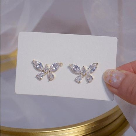 butterfly  new fashion  simple earrings  NHXI262018's discount tags