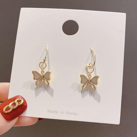 Korea new s925 silver needle  butterfly wings alloy earrings   NHXI262020's discount tags