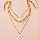 fashion new simple alloy chain necklace  NHAI262029