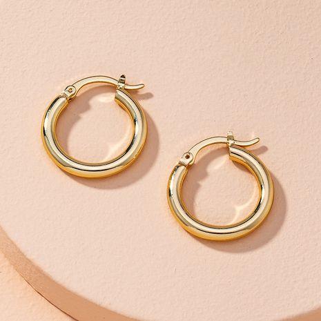 simple alloy Hoop earrings NHAI262032's discount tags