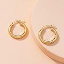 simple alloy Hoop earrings NHAI262032