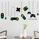 console game handle decoration chandelier wall stickers  NHAF262053