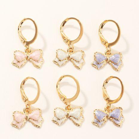 Vente en gros boucles d'oreilles colorées pour femmes NHNU262973's discount tags