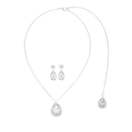 Ensemble de boucles d'oreilles à chaîne en diamant à la mode NHHS259895's discount tags