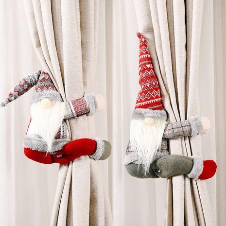 Creative Christmas treillis forêt personnes âgées rideau boucle pendentif poupée âgée NHHB262251's discount tags