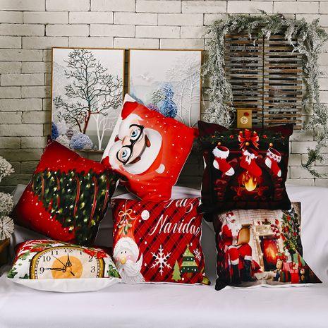 nouvelle taie d'oreiller en flanelle créative ornements de Noël NHHB262266's discount tags