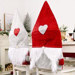 Adorno navideño Love Forest Funda para silla de ancianos NHHB262267