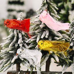 Decoraciones navideñas Accesorios creativos para pájaros nuevos NHHB262273