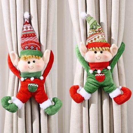 Décoration de Noël porte créative suspendue pendentif poignée de porte rouge NHHB262287's discount tags