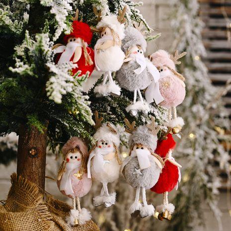 Fournitures de décoration de Noël en peluche pendentif fille bois nouveau pendentif en peluche créatif NHHB262290's discount tags