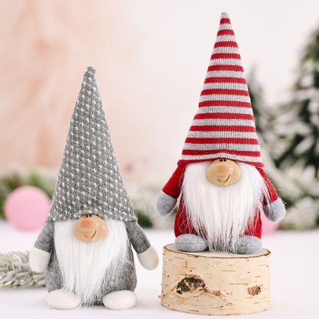 Nouvelle décoration de Noël forêt vieille poupée Smiley NHHB262293's discount tags