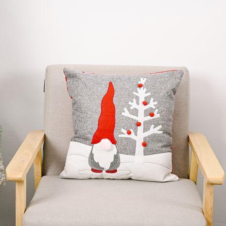 Ornements de Noël taie d'oreiller arbre de poupée sans visage taie d'oreiller du père noël NHHB262294's discount tags