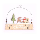 Wooden Letter Card Door Wall Hanging Store Welcome Sign Painted Pendant NHMV262298