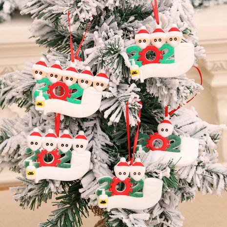 Hot selling fashion Christmas tree PVC material writing pendant wholesale NHMV262303's discount tags