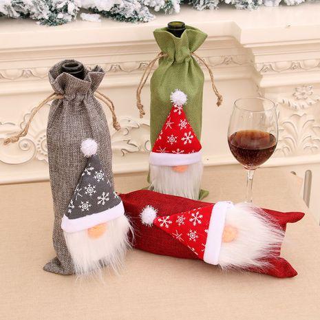 Vente chaude de mode de Noël Décorations pour la maison Ensembles de vin Ensembles de bouteilles de vin NHMV262320's discount tags