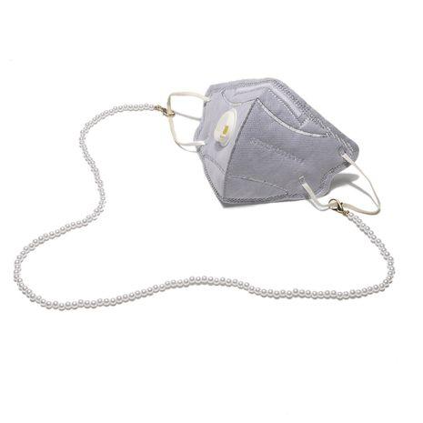 Echte vergoldete Schließe Perle handgefertigte Kettene Kette Mode Brille Kette NHBC262357's discount tags