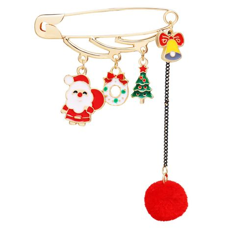 Neue Santa Claus Anhänger Haarball Brosche NHPJ262378's discount tags