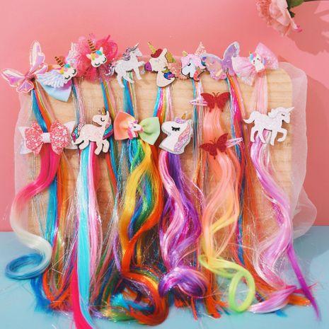 Kinder Perücke Geflecht Koreanisches Mädchen Geflochtenes Haarseil Kopfschmuck Prinzessin Band Langes Geflecht NHPJ262381's discount tags